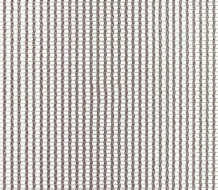 Cable Wire Metal Mesh Fabric For Architectural Glass