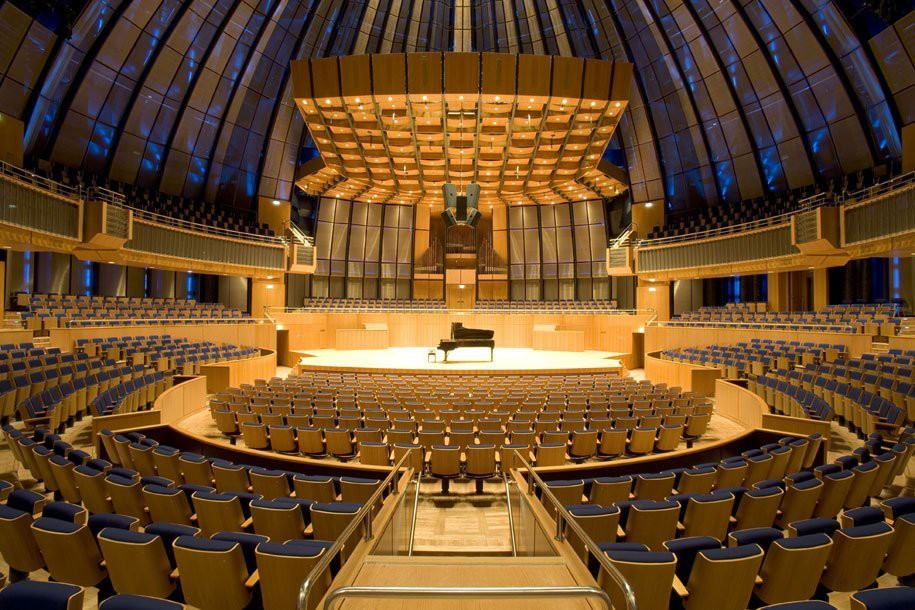 Concert Hall Coined Music Planetarium In Acoustically Pleasing Redesign Using Custom Mesh