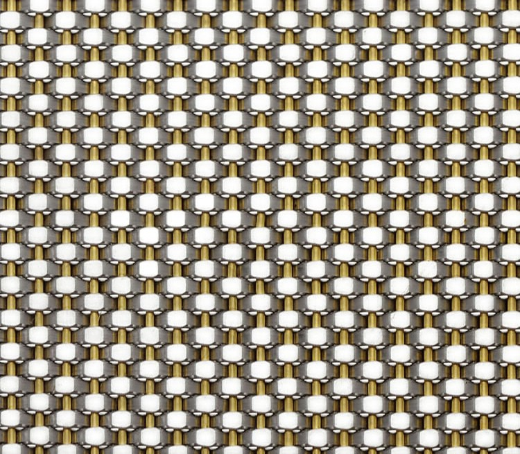 Brass Crimped Mesh HT-6218T