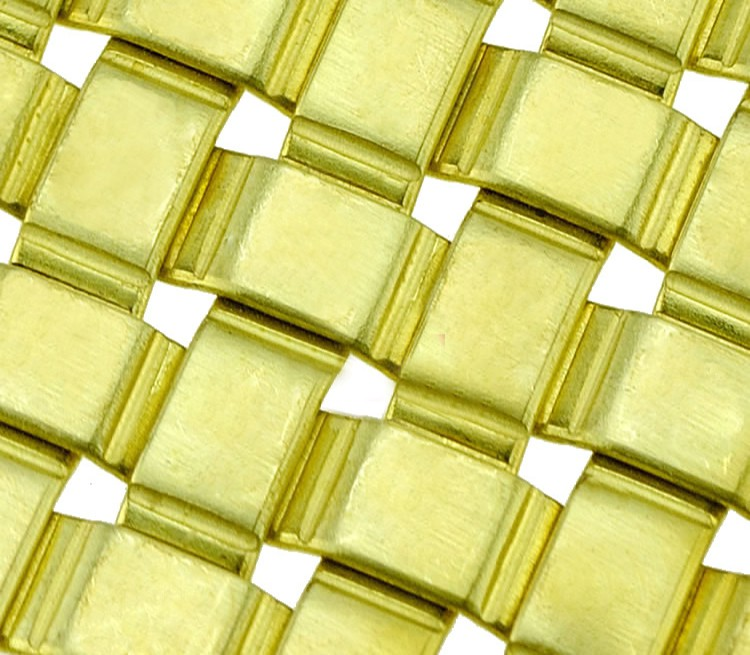 Brass Crimped Mesh HT-8113