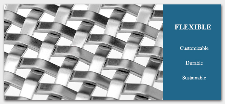 architectural mesh screen HT-8156