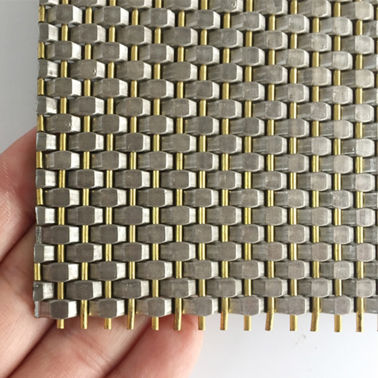 crimped mesh for wall