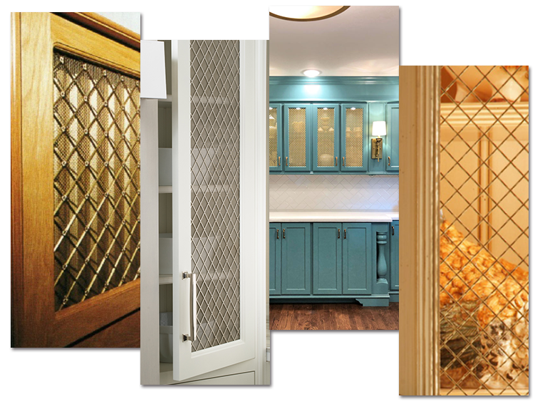 Decorative Mesh For Cabinets