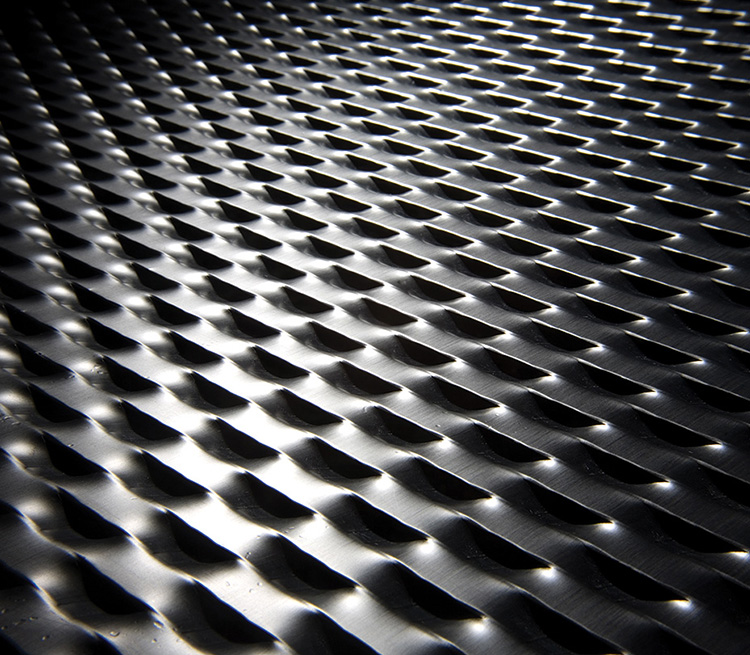 Aluminum Diamond Mesh Expanded Metal for Exterior Facade&Screen