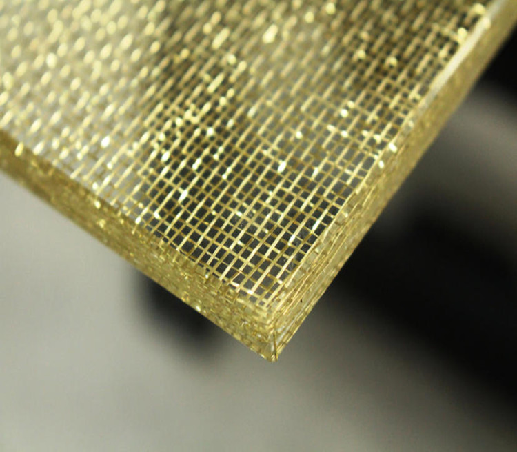Glass Laminated Wire Mesh HT-4210